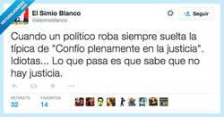 Enlace a Confían en la Justicia, normal por @ElSimioBlanco