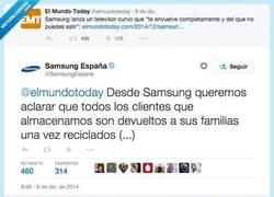 Enlace a Las pantallas de @SamsungEspana tienen preocupados a los de @ElMundoToday