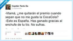 Enlace a Así funciona España, por enchufe por @capitantoda