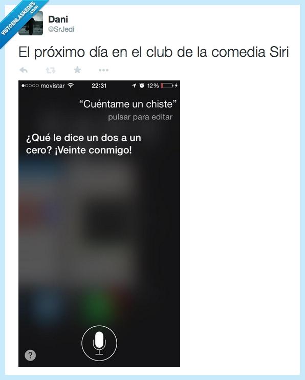 20,apple,cero,chiste,conmigo,dos,iphone,Siri,Twitter