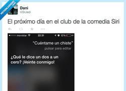 Enlace a Siri, de app a humorista por @SrJedi