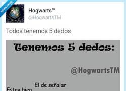 Enlace a Todos tenemos 5 dedos por @HogwartsTM
