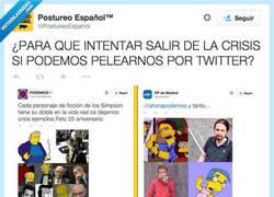 Enlace a Entre @AhoraPodemos y @PPMadrid se llevan un cachondeo... por @Postureoespanol