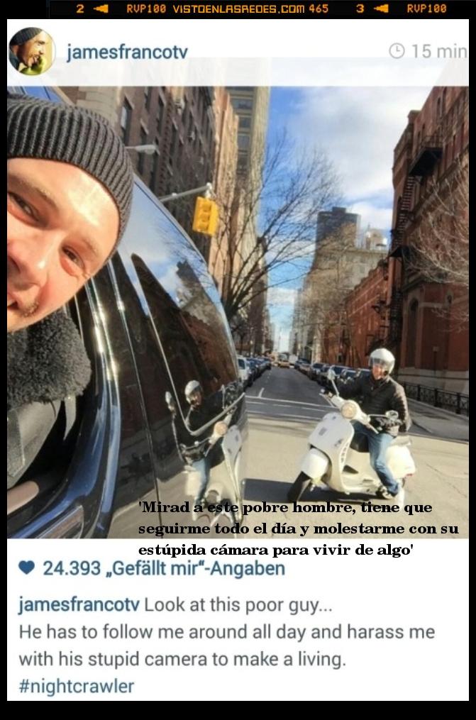 fotografo,instagram,James Franco,paparazzi,periodista,perseguir