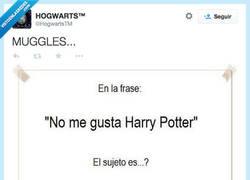 Enlace a Sintaxis explicada por magos por @HogwartsTM
