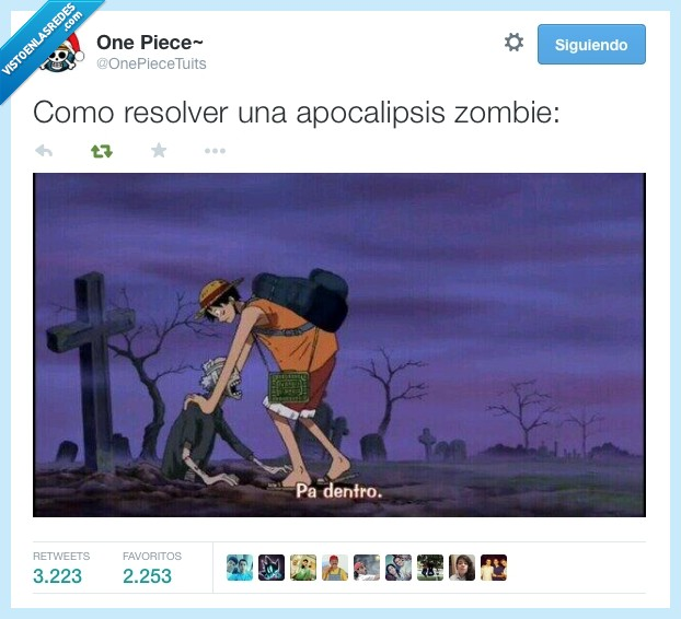apocalipsis,dentro,guardar,luffy,mejer,muerto,one piece,tumba,volver,zombie