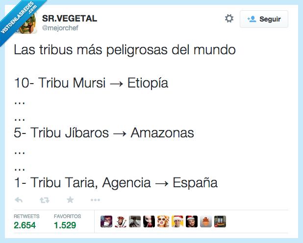 agencia,españa,hacienda,jíbaros,mursi,peligrosa,tribu,tributaria