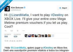 Enlace a Lizard Mafia hackea los servidores online de Xbox y Sony. @KimDotcom quiere jugar