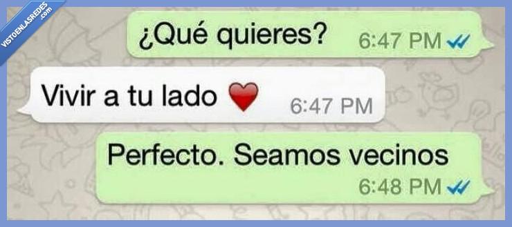 amor,contigo,friendzone,lado,perfecto,querer,quieres,vecino,vivir,whatsapp