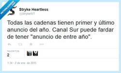 Enlace a Y nos quejamos de Antena 3... por @StrykeWT
