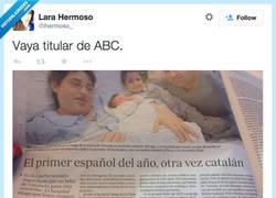 Enlace a Madre mía, en el ABC ya no se cortan nada... por @lhermoso_