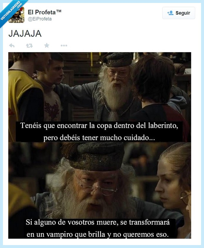 Caliz de Fuego,cedric,Dumbledore,Harry Potter,Robert Pattinson,vampiro