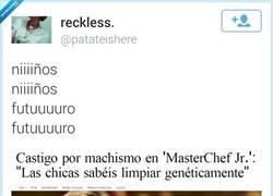 Enlace a Madre mía cómo suben los peques... por @patateishere