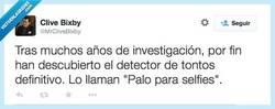 Enlace a Descubierto detector de tontos por @MrCliveBixby