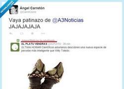 Enlace a Vaya metedura de pata de los de @a3noticias por @CarreCorre