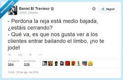 Enlace a Bailando el limbo por @don_travieso