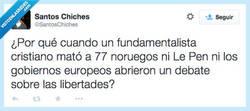 Enlace a No siempre interesa remover los temas por @SantosChiches
