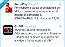 Enlace a Pique entre @Auron0 y @GHoficial... Fight!