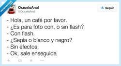 Enlace a ¿Me pone un café para este lunes? por @OrzueloAnal