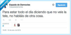 Enlace a Que luego los datos de audiencia no mienten por @espadadamocles