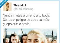 Enlace a Nunca invites a un elfo a tu boda por @AFabulousKing