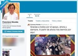 Enlace a El único que faltaba por Twitter, nada más y nada més que El Pequeño @FRANNICOLAS_G