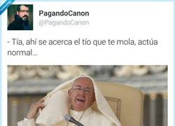 Enlace a Tú intentas ser normal, acabas así por @PagandoCanon