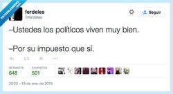 Enlace a Si lo llego a saber, me meto a político por @ferdeles