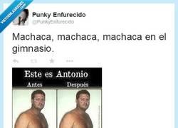 Enlace a Machaca, machaca... Y así se quedó por @PunkyEnfurecido