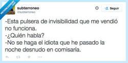 Enlace a No cuela, no me mienta por @subterroneo