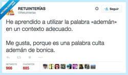 Enlace a Soy muy culto, tengo mucho vocabulario por @Retuinterias
