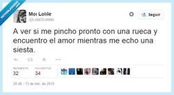 Enlace a La Bella Durmiente sí que sabe por @LolaOLolailo