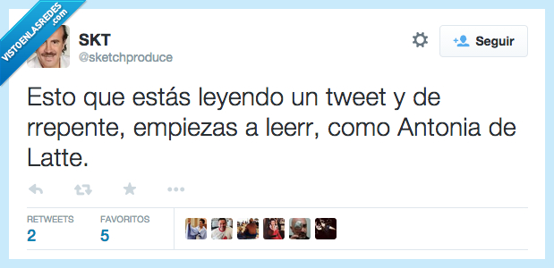 Antonia de Latte,Antonia Dell'Atte,italiano,leer,tweet,twitt