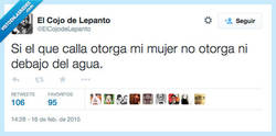 Enlace a Digamos que le gusta bastante hablar por @ElcojodeLepanto