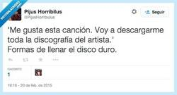 Enlace a Formas de llenar el disco duro por @PijusHorribulus