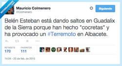 Enlace a El verdadero motivo del terremoto por @Colmenero