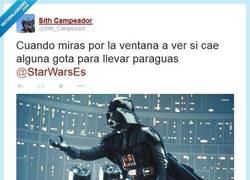 Enlace a Parece que chispea... por @Sith_Campeador