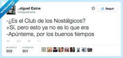 Enlace a Cualquier tiempo pasado fue mejor por @MiguelCaine