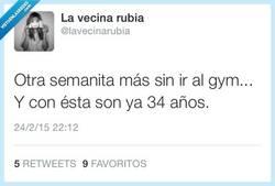 Enlace a El tiempo se pasa volando por @lavecinarubia