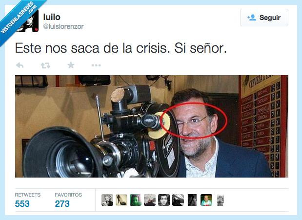 camara,cerrar,crisis,este,fail,listo,mirada,mirar,ojo,presidente,Rajoy,saca,sacar