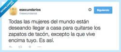 Enlace a No se los quita ni para dormir, por @esecundarios