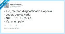 Enlace a La alopecia no es un tema de broma por @JandroRuiz99
