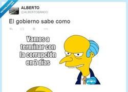 Enlace a ¡Adiós a la corrupción, gente! por @ALBERTOBANDO