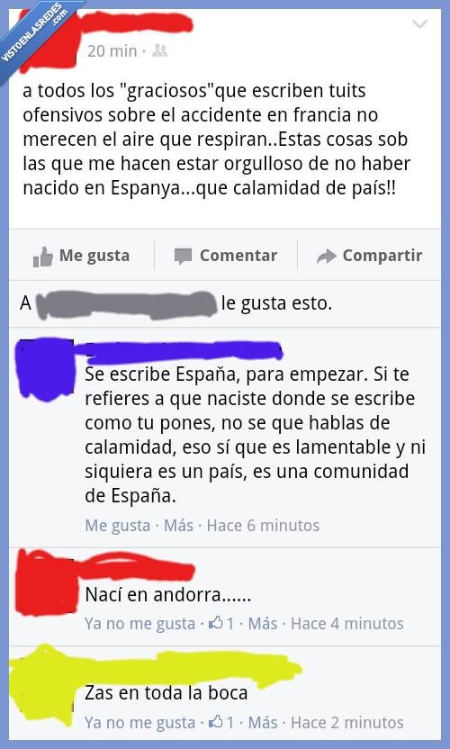 andorra,catalan,cataluña,comunidad,españa,espanya,país,vergüenza,zas