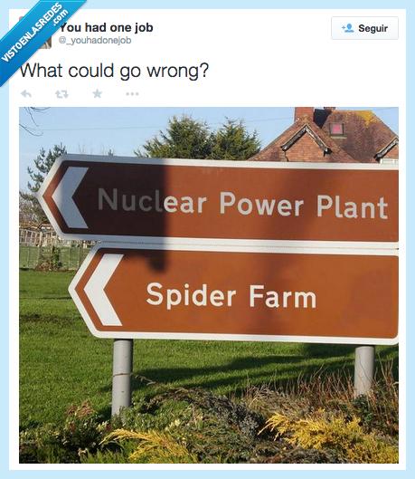 arañas,central nuclear,granja,ir,mal,miedo,peligro,poder,podría,qué,Spiderman
