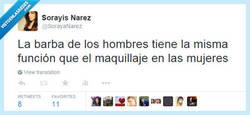 Enlace a El maquillaje de los hombres por @SorayaNarez