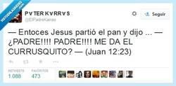 Enlace a ¡El currusquito es SAGRADO! por @ElPadreKarras