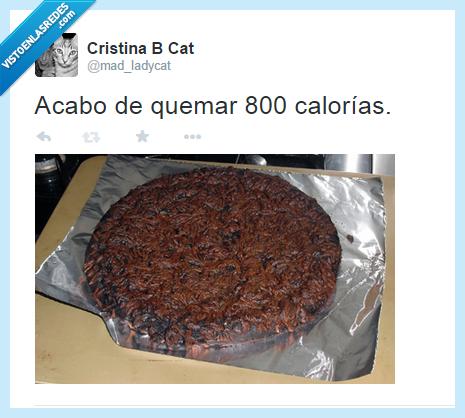 800,calorias,horno,pizza,quemada,quemar