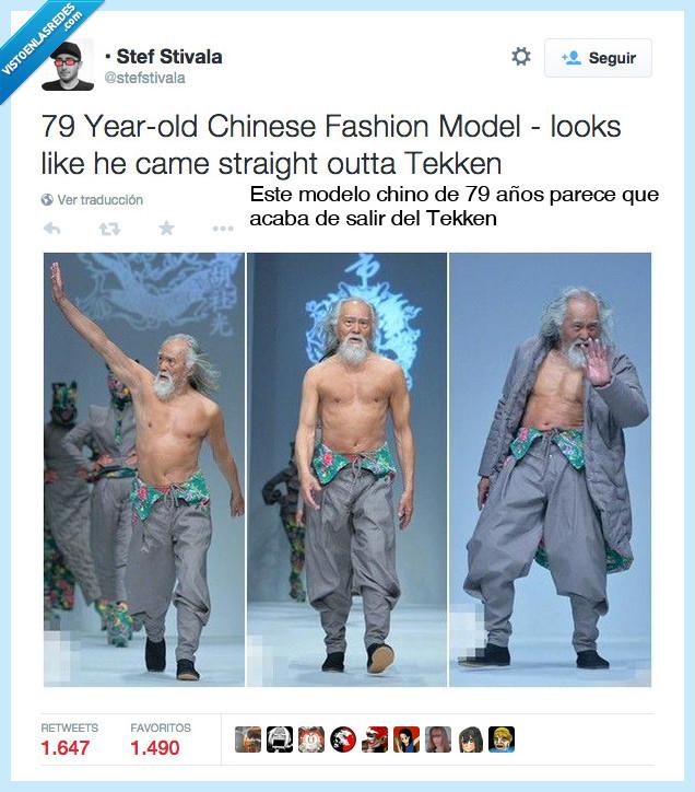 abuelo,anciano,china,chino,modelo,personaje,ropa,señor,Tekken,viejo