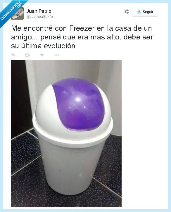 amigo,casa,dragon ball,dragon ball z,freezer,papelera,parecido